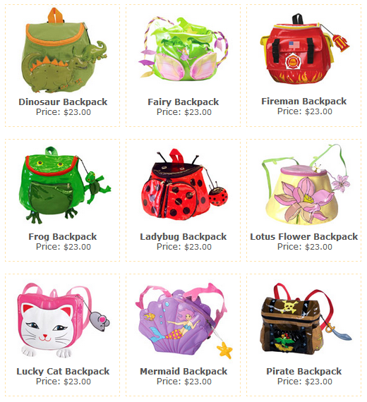 kidorable backpacks