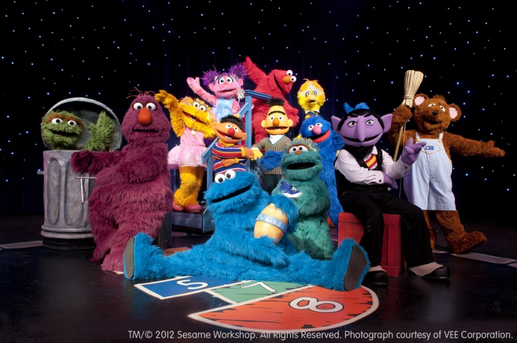 Win a Family Four-Pack of Tickets to Sesame Street Live ...
