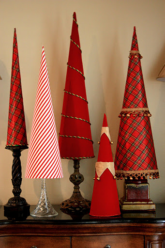 Christmas Decorations Cone Trees : Diy christmas decoration ideas marvelous mommy