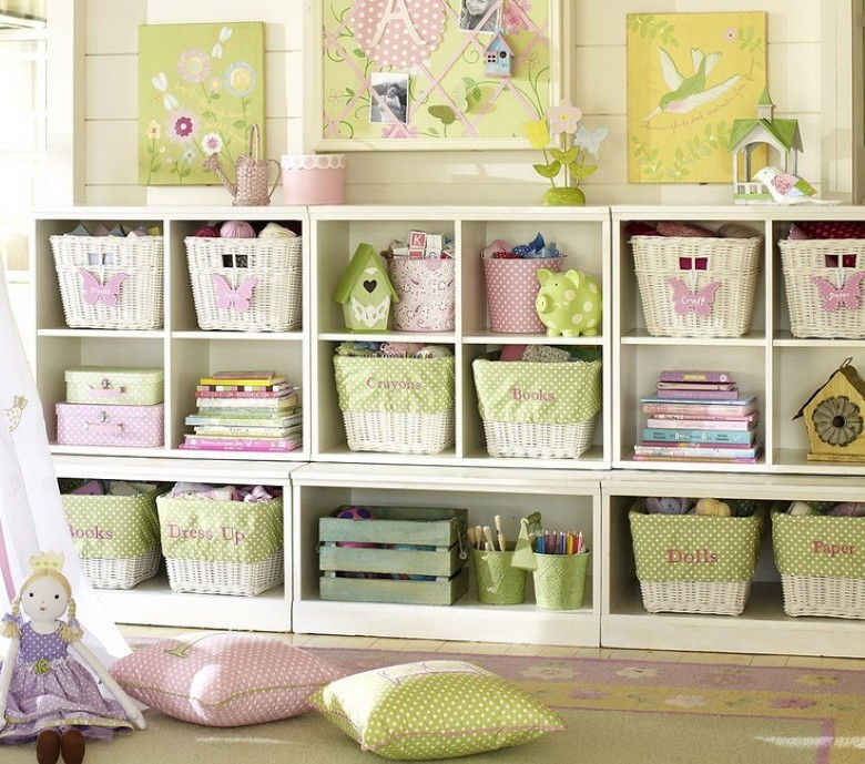 Kids storage solutions for Kids room toy storage