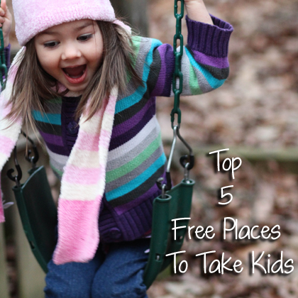 Top 5 Free Places To Take Kids
