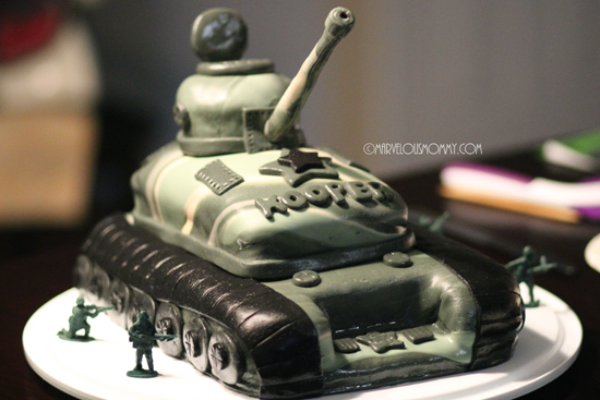 Army Themed Cakes Army Camo Tank Birthday Cake
