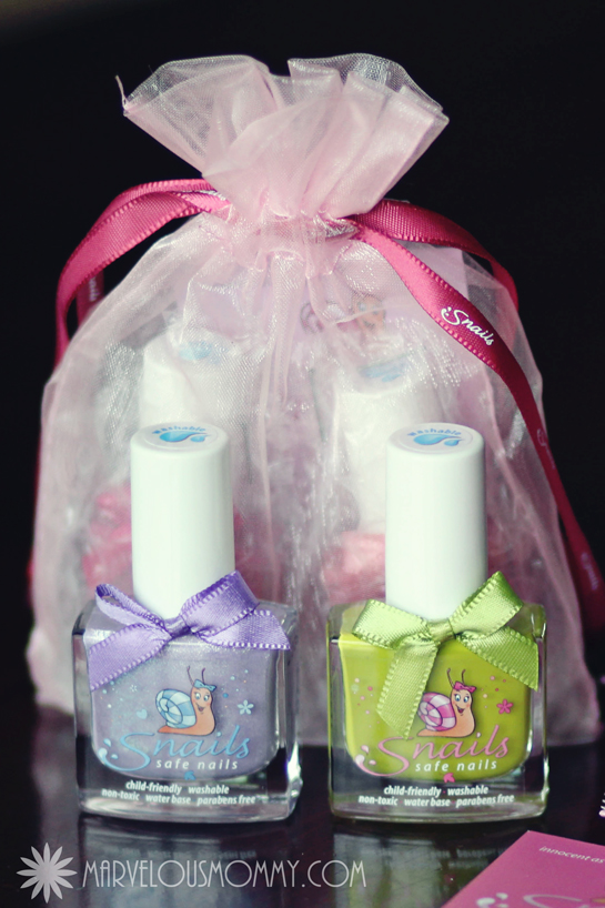 Nail Polish Gift Pouch _ Snail Nails