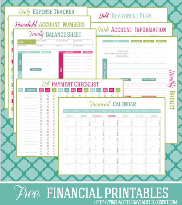 Getting Organized | Family Planner Binder {Free Printables}