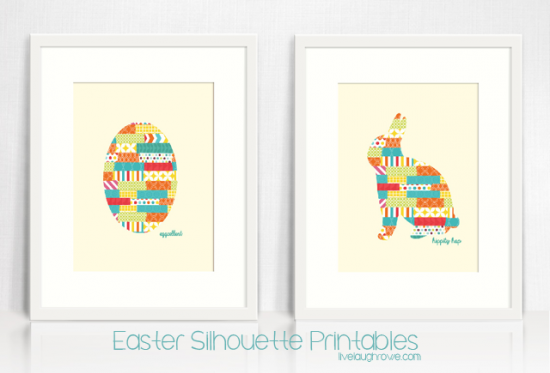 Two-Easter-Silhouette-Printabls