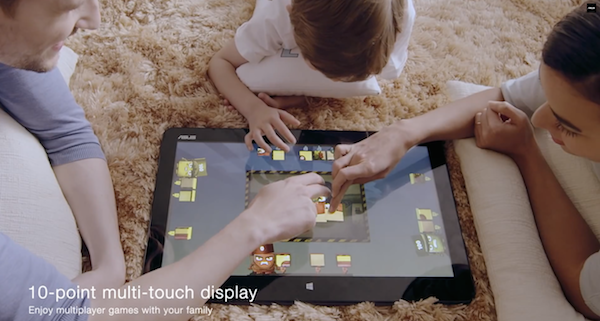 10 point multi-touch display