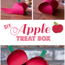 Apple Treat Box DIY