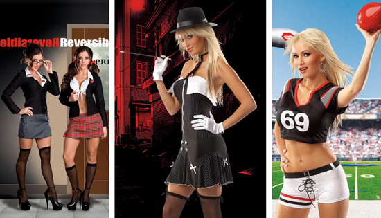 Sexy school girl costume diy-9997