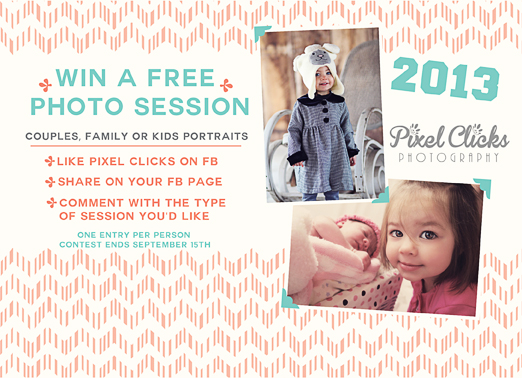Giveaway | Win a Free Photography Session {Atlanta